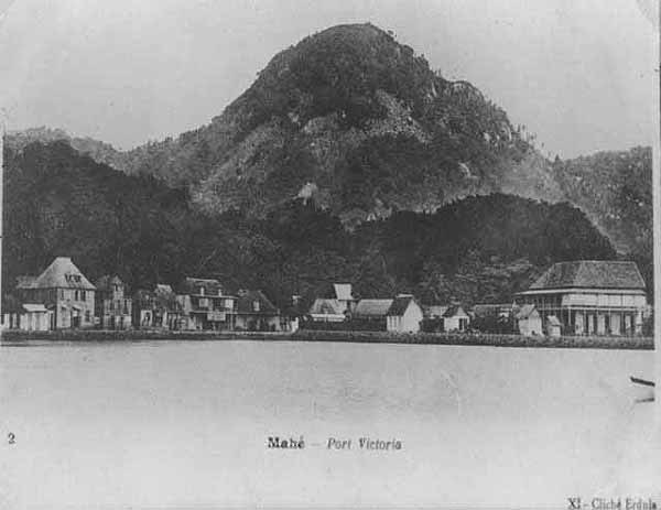 Victoria Seychelles 1900s