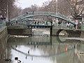 Vidange canal Saint-Martin D160108 - Pont tournant de la rue Dieu.jpg