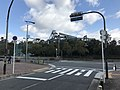 View of Universal Studios Japan from west side.jpg