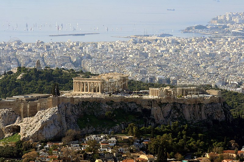 File:View of the Acropolis from Lykavittos Hill.jpg