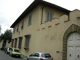Francesco Guicciardini - Villa Ravà, Arcetri, the former home of the Guicciardini family, where Francesco Guicciardini wrote The History of Italy