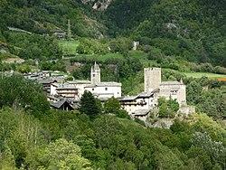 Village d'Avise - Église Saint-Brice et Château de Blonay.jpg