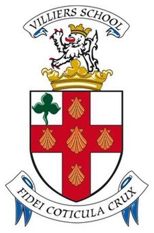 Villiers School - Image: Villiers School crest