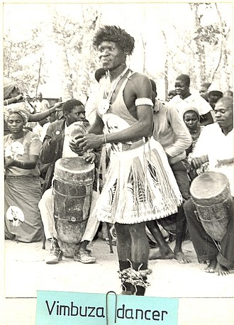 Tumbuka people - Image: Vimbuza dancer