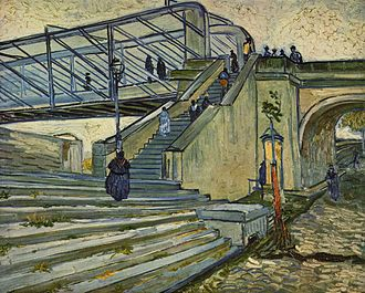 Trinquetaille - The bridge of Trinquetaille, by Vincent van Gogh, 1888