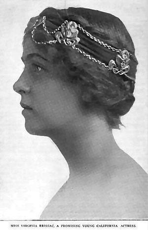 Virginia Brissac - Virginia Brissac c. 1904
