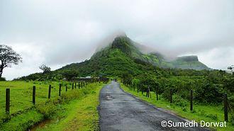 Visapur Fort - Visapur in Monsoon