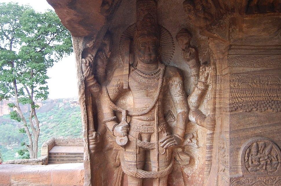 Vishnu Badami Caves