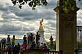 Visitors enjoying the day and the view of the Queen Victoria Memorial..jpg