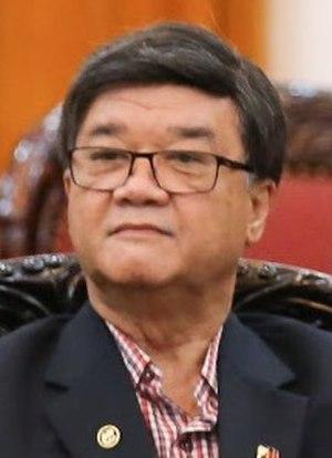 Secretary of Justice (Philippines) - Image: Vitaliano Aguirre