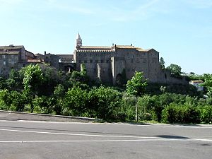 Der Papstpalast in Viterbo, 1255–1266 erbaut
