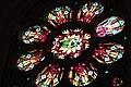 Vitrail d'une rosace de l'église Saint-Gérand (Le Palais) par les ateliers Mauméjean - 1.jpg