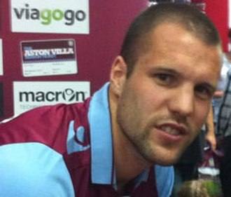 2012–13 Aston Villa F.C. season - Ron Vlaar – Villa's fourth signing of the summer and new captain for the season.