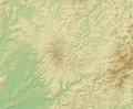 Vogelsberg (Relief) - Deutsche Mittelgebirge, Serie A-de.png