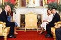 Volodymyr Zelensky, Prince William and Kate Middleton (2020-10-07) 03.jpg