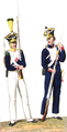 Voltigeur and Fusilier of 2nd Infantry Regiment of the Duchy of Warsaw.png