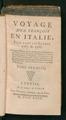 Voyage d'un françois en Italie, fait dans les années 1765 et 1766.tif