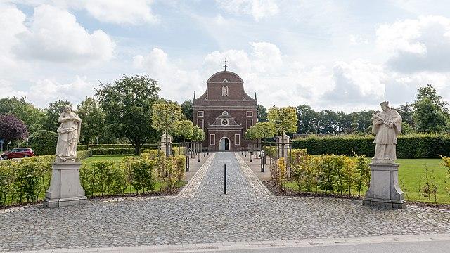 St.-Franziskus-Kirche, Zwillbrock, Vreden, Nordrhein-Westfalen, Deutschland