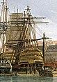 Vue du port de Brest-detail Republicain.jpg