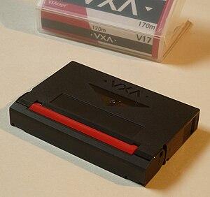 VXA - Image: Vxa tape v 17 top front