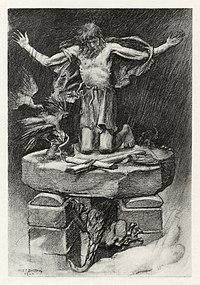 W.E.F. Britten - Alfred, Lord Tennyson - St. Simeon Stylites