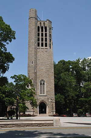 Washington Memorial Chapel - National Patriots Bell Tower (1953)