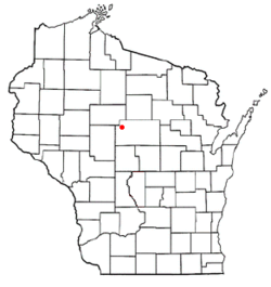 Location of Johnson, Wisconsin