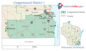 District map as of 2002
