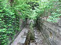 WPA drainage channel at Maple, Bloomington West Side HD.jpg