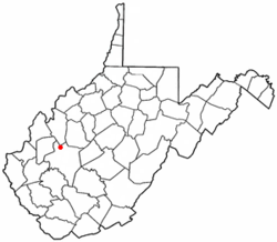 Location of Sissonville