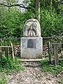 WW2 Downhills Shelter memorial, Lordship Recreation Ground, Tottenham, London, England 1.jpg