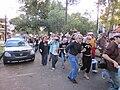 WWOZ 30th Birthday Parade Esplanade Avenue Believe Dance.JPG