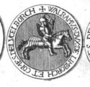 Waleran III, Duke of Limburg - Seal of Waleran.