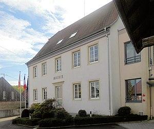 Walheim, Haut-Rhin - Image: Walheim, Mairie