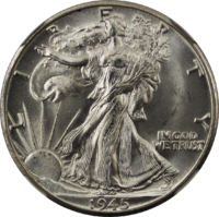 Walking Liberty Half Dollar 1945D Obverse.png