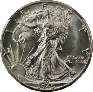 Illinois Centennial half dollar - Cornelius Vermeule felt that the use of the sun on the Illinois coin recalled works such as the Walking Liberty half dollar (first issued 1916).