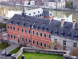 Parliament of Wallonia - Image: Walloon Parliament main entrance