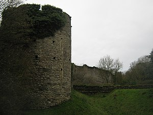 Saltwood Castle - Walls of Saltwood Castle