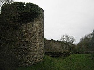Saltwood Castle - Walls of Saltwood Castle
