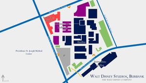 Walt Disney Studios, Burbank (hybrid)