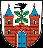 Das Wappen von Meyenburg