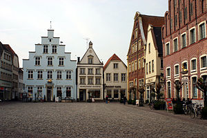 Warendorf - The Market Square, Warendorf