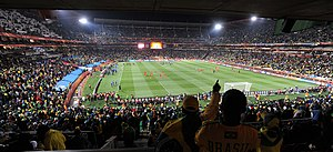 Ellis Park Stadium - Brazil vs North Korea match
