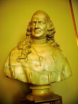 Doge of Genoa - Bust of Giovanni Battista Cambiaso, Doge of Genoa between 1771 and 1773, Royal Castle in Warsaw.