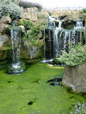Pulhamite - Waterfall in Albion Place Gardens, Ramsgate
