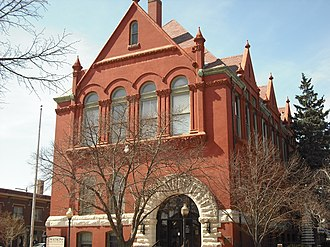 Lawrence, Kansas - Watkins Community Museum, once Watkins National Bank and Lawrence City Hall