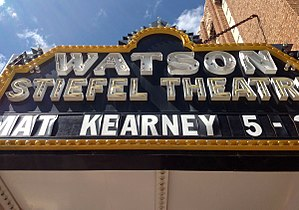 Fox-Watson Theater Building - Marquee
