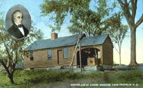 Webster Birthplace, Franklin, NH