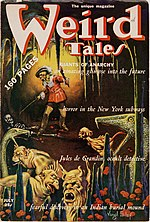 Weird Tales cover image for July 1939