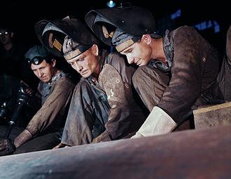Combustion Engineering - Welders making boilers for a ship, Combustion Engineering Co, Chattanooga, Tenn. (1942)